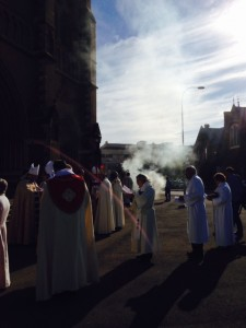 ordination outside st peters
