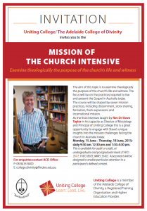 mission of church updated