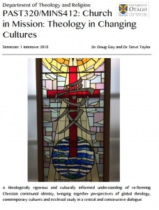 Church in Mission Theology in Changing Cultures